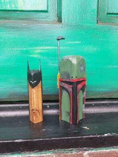 Batman and Boba Fett