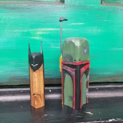 Batman and Boba Fett